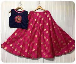 Crop Top Design Pattern Brocade Ski Kids Blouse Designs Dresses Kids Girl Baby