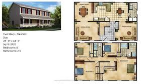 >modular home two story 504 1 jpg modular home two story plan 503