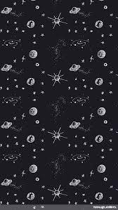 doodle universe iphone wallpaper