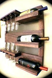 wine racks wooden wall mounted wine racks mountable rack hung mount wrought wood