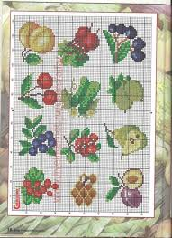 823 best cross stitch patterns fruits and foods images on
