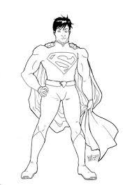 Superman coloring pages will primarily attract the attention of comic book lovers. New 52 Superman Coloring Pages