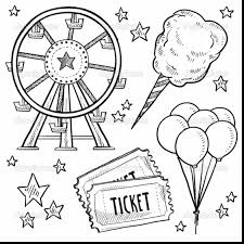 outstanding carnival tickets coloring pages with circus coloring ...