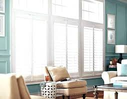 interior plantation shutters for sliding glass doors blinds cost faux wood archi