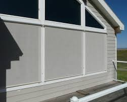 exterior window sun shades surprising roll up see through decorating ideas 6