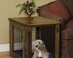 furniture pet crates. Fine Crates Pet Furniture Wooden Dog Crate Wood End Table Kennel In Oak Inside Furniture Pet Crates