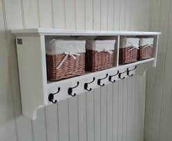 coat rack shelf storage baskets