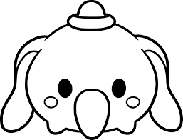 Unique Disney Tsum Tsum Coloring Pages Black And White Collection