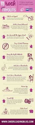 best ideas about cheer tryouts cheerleading cheer infograph how to rock your cheerleading tryouts infographic