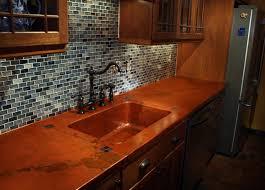 richmond va copper concrete countertop mediterranean kitchen