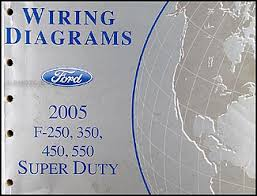 ford f thru super duty wiring diagram manual original