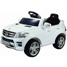 Amazon.com: Costzon White Mercedes Benz ML350 6V Electric Kids ...