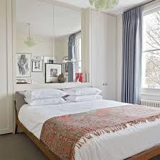 Organised Bedroom Smart Organised Bedroom With Mirrored Wall Ideal Home
