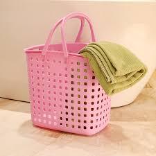 Pink Plastic Laundry Basket Extraordinary Buy Free Shipping Thick Portable Plastic Laundry Basket Laundry