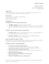 Sample Public Relations Resume Pr Resumes Examples Inspirational