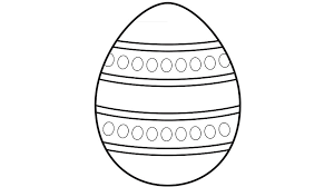 Easter Egg Coloring Pages And Playmats