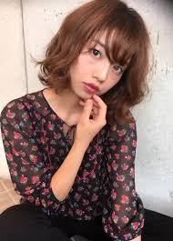 若く見える髪型ゆるふわボブ横浜美容室ラムデリカyuka ヘアカタログ