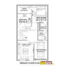 house plan for 21 feet by 37 feet plot plot size 86 square yards