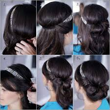 Chingon Hair Style diy banded chignon hairstyle for all the beauties out there 6227 by wearticles.com