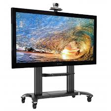 flat panel mount tv stand. Mobile Heavy Duty TV Stand With Mount For 60\ Flat Panel Tv C