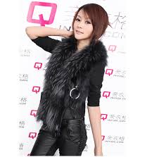 korean fashion new women s sleeveless leather jacket fur collar faux fur vest women winter warmer fur leather coat jk60