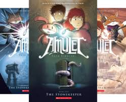 amulet 8 book series by kazu kibuishi