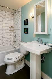 modern bathroom subway tile. Bathroom Remodel | Retro Modern Subway Tile Teal Accent Wall T