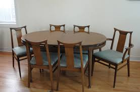 mid century modern round walnut dining table. modern dining room tables and round brown wooden top with mid century chair unique oval blue walnut table