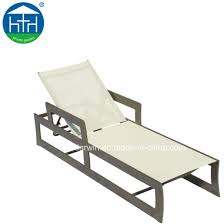 outdoor mesh chaise lounger