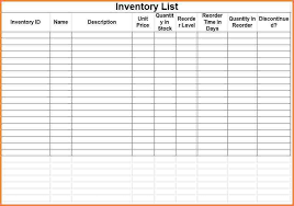 format of inventory inventory control format and inventory control system excel
