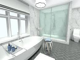 modern white tile floor. Modern White Bathroom Design Ideas Idea With Herringbone Tile Flooring Home Designs Floor K