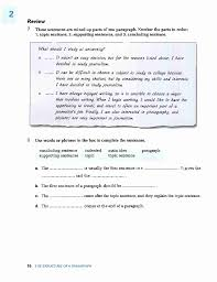 pted college writing from paragraph to essay the structure ofa paragraph 15 ni 21 i0