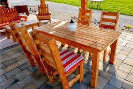 the diy 2x4 outdoor furniture project