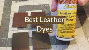 top 5 best leather dyes for furniture