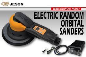 electric orbital sander. kae dih\u0027s jeson electric random orbital sander (central vacuum type).