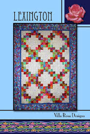 Lexington Quilt Pattern - Villa Rosa Designs &  Adamdwight.com