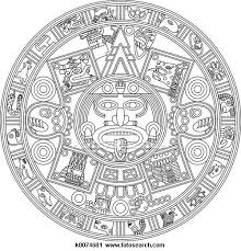 Mayan Calendar Clipart