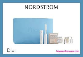 receive a free 4 pc gift with 150 dior beauty purchase