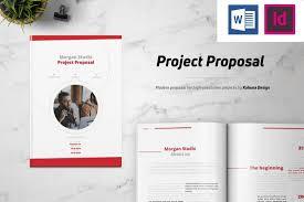 025 Minimal Project Proposal Brochure Template Microsoft
