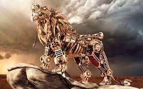 3d Lion Mobile Wallpaper