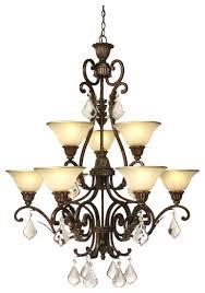 artcraft ac1829 florence 9 light chandelier loading zoom
