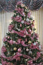 Unique pink Christmas tree