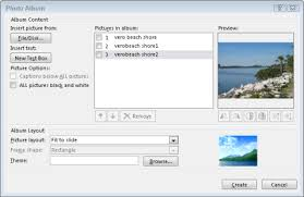powerpoint photo albums add multiple images to an existing presentation
