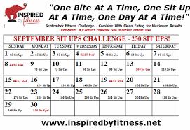 Susanvanhoosen Com September Fitness Challenge 250 Sit Ups