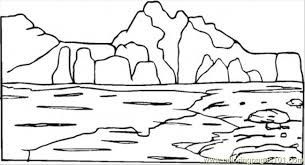 Small Picture Mountain Coloring Page Free Mountain Coloring Pages