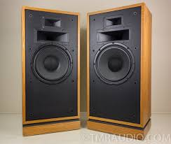 klipsch speakers vintage. klipsch forte vintage floorstanding speakers; oiled oak pair | the music room speakers