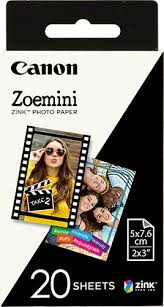 Картридж для <b>фотоаппарата Canon Zoemini</b> Zink Photo Paper, 20 ...