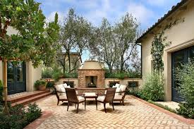 Small Picture Get the Look Spanish Mediterranean Courtyard