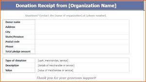 Donation Receipt Form C 3 Donation Receipt Form Donation Receipt