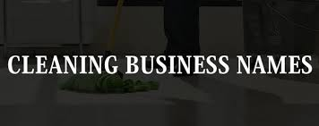 Names For Cleaning Service Business 41 Graceful Cleaning Business Names Industry
